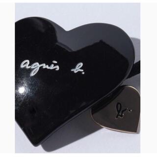 agnes b. - 新品未使用 agnesb. アニエス ハートヘアゴム 黒