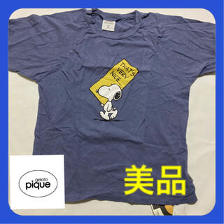 gelato pique - [ジェラート ピケ] 【SNOOPY】コットンワンポイントTシャツ メンズ L