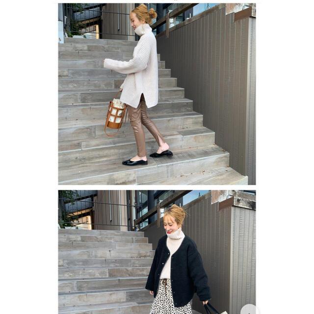 mite オーバーサイズロングタートル レディースのトップス(ニット/セーター)の商品写真