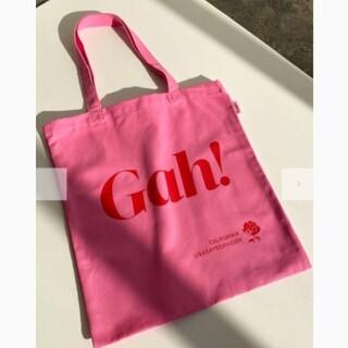 エディットフォールル(EDIT.FOR LULU)の新品 Lisa says gah! トートバッグ エコバッグ Pink(エコバッグ)