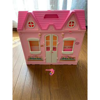 バービー(Barbie)のピンク のバービーハウス(ぬいぐるみ)