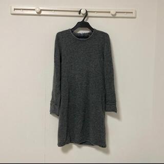 DOUBLE STANDARD CLOTHING - メランジニットワンピース