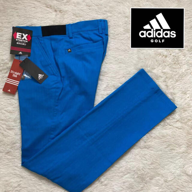 adidas(アディダス)の82 新品定価1.2万円/アディダス メンズ/春夏/ストレッチロングパンツ スポーツ/アウトドアのゴルフ(ウエア)の商品写真