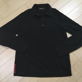 プラダ(PRADA)のプラダ ブラック ロンT(Tシャツ/カットソー(七分/長袖))