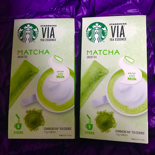 スターバックスコーヒー(Starbucks Coffee)の[Reona31 様]専用! !【和風!!】抹茶x 2箱  Via スタバ(茶)