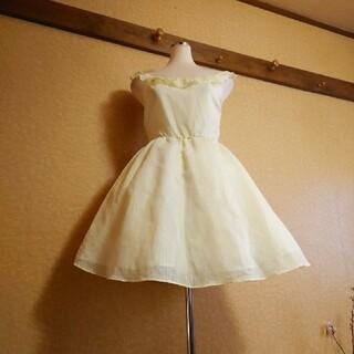 OLIVEdesOLIVE - ふわひら♡淡い黄色カラーのフェアリードレス