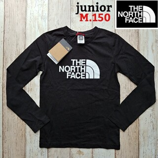 THE NORTH FACE - 【海外限定】TNF ジュニア ロンT 黒 140-150