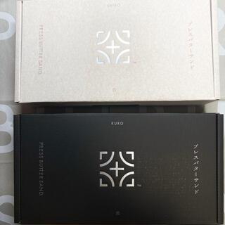 PRESS BUTTER SAND プレスバターサンド 白 黒 チョコ(菓子/デザート)