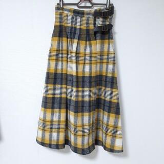 SM2 - サマンサモスモス♡黄色のチェックスカート