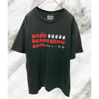 A BATHING APE - アベイシングエイプ Tシャツ 90s 2000年 Mサイズ