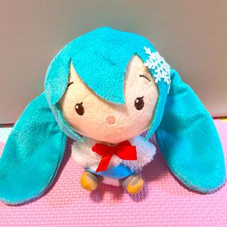 タイトー(TAITO)の初音ミク Cuteぬいぐるみ winterver.(キャラクターグッズ)