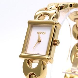 Gucci - 【GUCCI】グッチ 時計 'チェンジベルト' ゴールドカラー ☆極美品☆