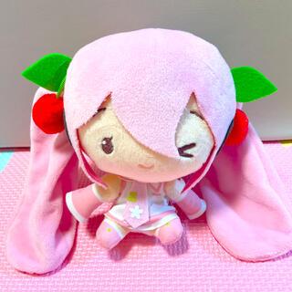 タイトー(TAITO)の桜ミク Cuteぬいぐるみ(キャラクターグッズ)