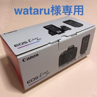 Canon - Canon EOS KISS X9i Wズームキット 一眼レフカメラ