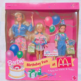 Barbie - *バースデーファン マクドナルドバービー*