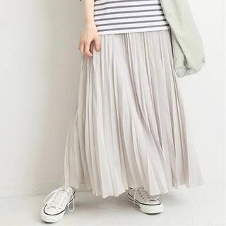 IENA - 【IENA】シルキーアコーディオンプリーツスカート 36サイズ