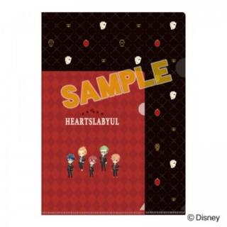 ディズニー(Disney)のツイステッドワンダーランド クリアファイルセット ハーツラビュル(クリアファイル)