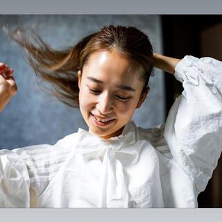 Drawer - yori ヨリ 【shirocon】ピーナッツスリーブブラウス