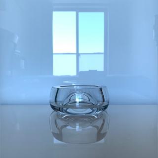 バカラ(Baccarat)の✯ 極レア 逸品 Baccarat 灰皿 アッシュトレイ 小物入れ 美品 ✯(灰皿)