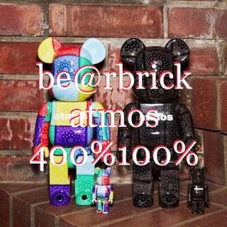 MEDICOM TOY - BE@RBRICK atmos BANDANA 100%&400% 2色セット