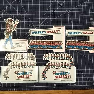 ウォーリー(WOLY)のウォーリーシール5枚セット(シール)