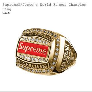 シュプリーム(Supreme)のsupreme シュプリーム gold  チャンピョンリング8.5(リング(指輪))