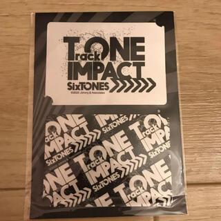 Johnny's - SixTONESトーンインパクトステッカー