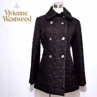 Vivienne Westwood - ヴィヴィアンウエストウッド オーブ 総柄 コート キルティング