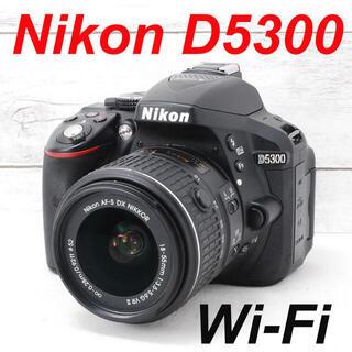 Nikon - ❤️ シャッター回数1157枚 ❤️Wi-Fi&自撮り❤️Nikon D5300