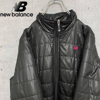 ニューバランス(New Balance)のニューバランス NEW BALANCE ダウン ワンポイント 防風 黒 L(その他)