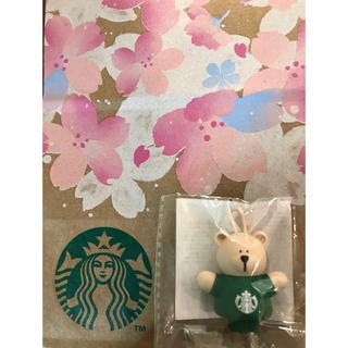 Starbucks Coffee - 紙袋付き 新品未使用 スターバックス ベアリスタ ドリンクキャップ