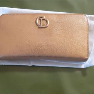 Christian Dior - ✨クリスチャン・ディオール、長札入れ、フルファスナー付き