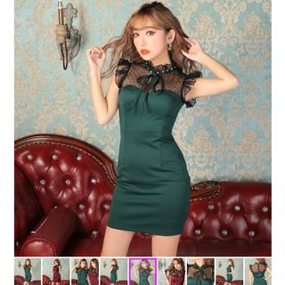 キャバ ドレス L