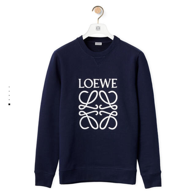 LOEWE(ロエベ)の アナグラム スウェットシャツ(コットン) メンズのトップス(スウェット)の商品写真