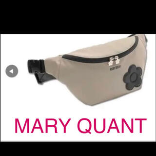 MARY QUANT - マリークワント  MARY QUANT ボディバッグ ウエストポーチ デイジー