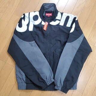 Supreme - Supreme Shoulder Logo Track Jacket Black