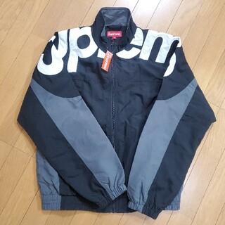 Supreme - Supreme Shoulder Logo Track Jacket Black