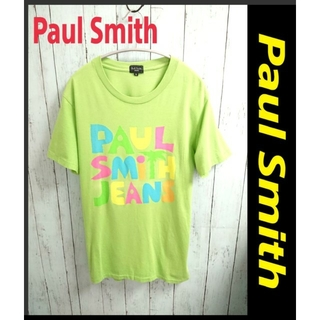Paul Smith - PAUL SMITH ポールスミス カラフル ビッグロゴ Tシャツ Mサイズ
