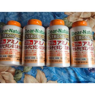 アサヒ(アサヒ)のディアナチュラ ストロング 39種 アミノ マルチビタミン&ミネラル 100日分(ビタミン)
