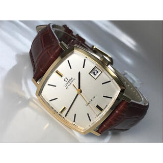 OMEGA - ★OMEGA★オメガ/ジュネーブ アンティーク腕時計 20Kシルバー文字盤自動巻