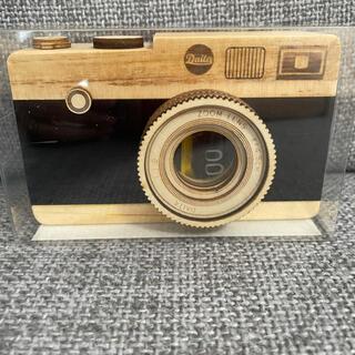 カルディ(KALDI)のカルディ 一眼レフカメラ(木製)(菓子/デザート)
