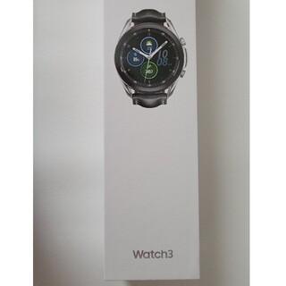 SAMSUNG - Galaxy Watch3 45mm silver SM-R840 輸入品