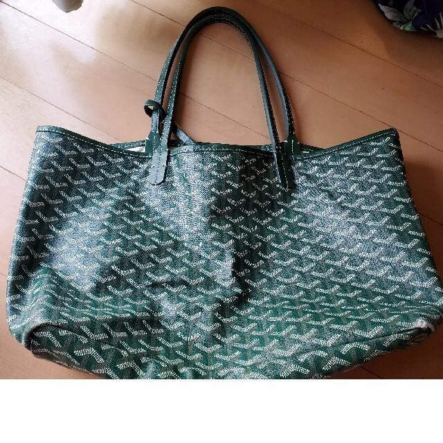GOYARD(ゴヤール)のGOYARD ゴヤール トートバッグ グリーン レディースのバッグ(トートバッグ)の商品写真