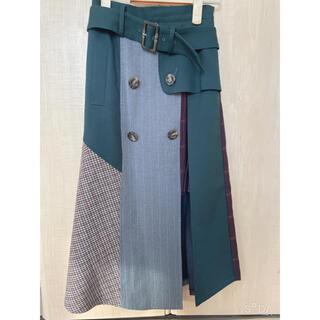 REDYAZEL - レディアゼル 異素材MIXスカート