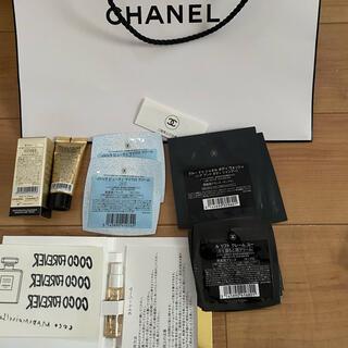 CHANEL - シャネル コスメサンプル色々ショップ袋付き