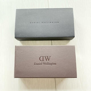 ダニエルウェリントン(Daniel Wellington)のダニエルウェリントンの時計が入っていた空箱(ショップ袋)