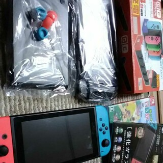 Nintendo Switch - 任天堂Switch、周辺機器、あつ森セット