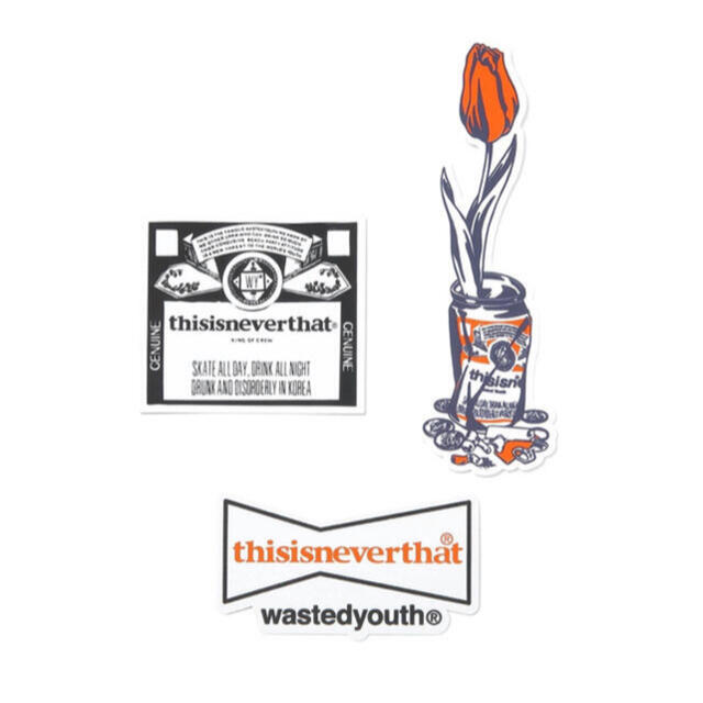 GDC(ジーディーシー)のthisisneverthat wasted youth Stickers メンズのファッション小物(その他)の商品写真