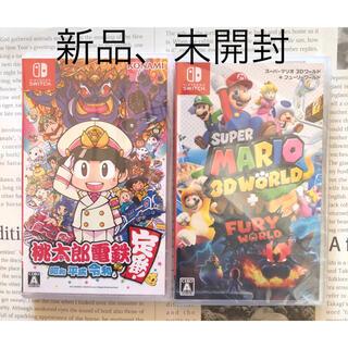 任天堂 - マリオワールド 桃鉄 switch 新品