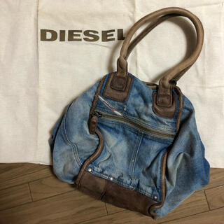 DIESEL - ★美品★diesel デニムバッグ ショルダーバッグ トートバッグ